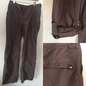 The North Face convertible pants size 6 EUC